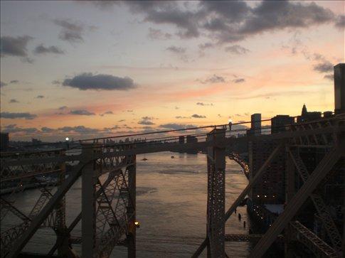 The view over the Queensboro Bridge