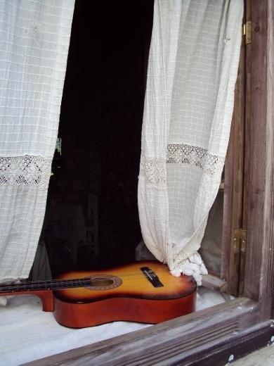 A window in Sirince