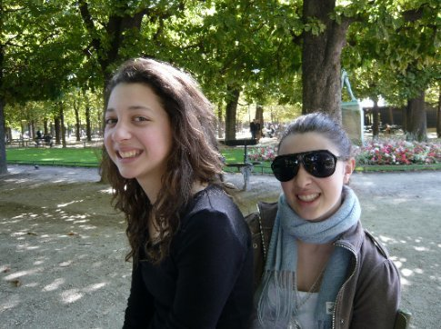 lunch in the luxembourg gardens