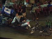 People's ability to lounge effortlessly on the backs of their motos is amazing.: by sglass, Views[137]