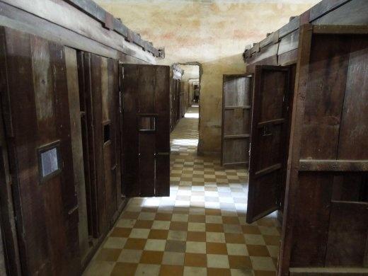 Cells in S-21 Prison