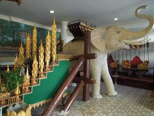 The royal elephant staircase