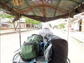 We get to Siem Reap and take a tuk tuk ride to our hotel: by sglass, Views[146]