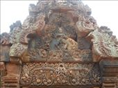 More carvings at Banteay Srei: by sglass, Views[204]