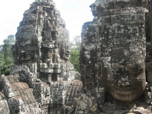 Crumbling towers everywhere with hidden pathways and tunnels- Bayon was one of our favorite temples