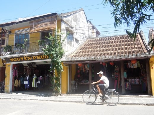 Tailor shops like these were everywhere!