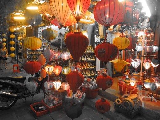 Paper lanterns of Hoi An