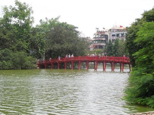 Huc Bridge, Hanoi