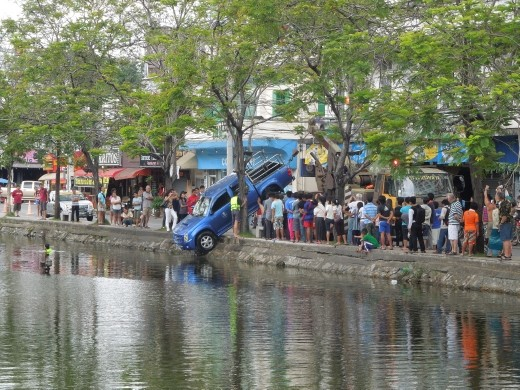 Transportation woes in Asia