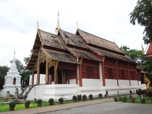 Temple-hopping around Chiang Mai