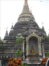 A very old and only partially restored temple/stupa in Chiang Mai: by sglass, Views[273]