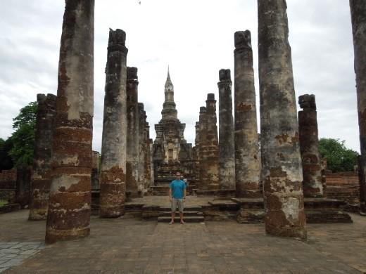 Joe at Wat Mahathat