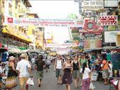 Khao San Road, world famous backpacker street: by shane, Views[386]