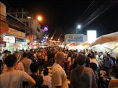 Sunday night market in Chiang Mai. A sea of people.: by shane, Views[260]
