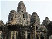 Bayon Temple, Faces carved in the stone.: by shane, Views[313]