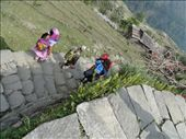 This is someone that is sick being carried on the back of another person. My guide said it was Nepal mountain ambulance.: by shane, Views[469]