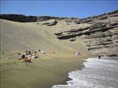 Green sand beach: by shannon-and-jason, Views[219]