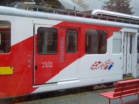 the mountain train...like a billy goat!!!