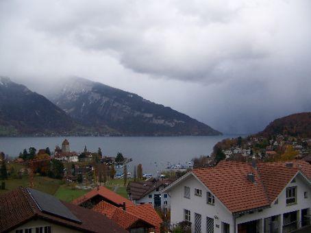 Spiez Switzerland and Lake Brienz