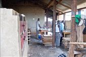 The cool thing about war ending is that people are now safe to start their own businesses and lead a peaceful life. Here is a bakery in Gulu that employs a few young guys. The smell of the bread baking was exceptional.: by sharoncrean, Views[259]