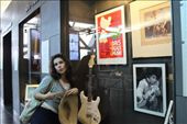 My friend and I had some time to kill before catching a train and luckily stumbled upon the Museum of Rock. What better way to pass time than to chill listening to all the greatest rock hits of the past century.: by shayna, Views[305]