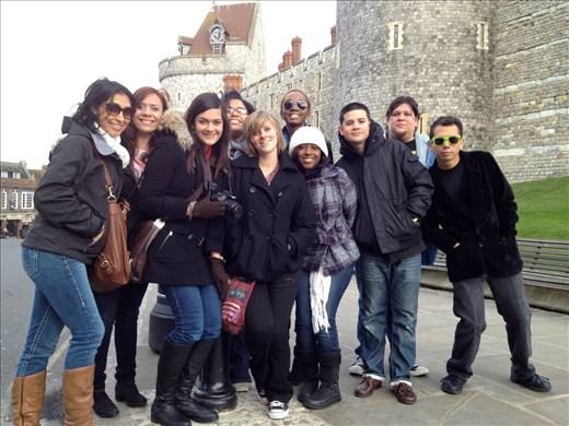 The gang at Windsor