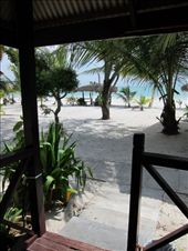 The view from my Langkawi beach cabin deck.: by shazbot, Views[1248]