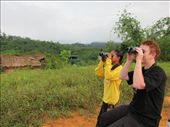Me and Orang Asli girl, Emma, who helped us with the count.: by shazbot, Views[460]