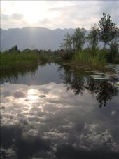 stunning lake on route to veg & flower market in