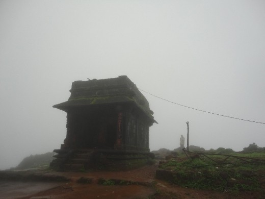At the peak a small temple is there which is called Sarvajana Peetha. Means its for everyone.