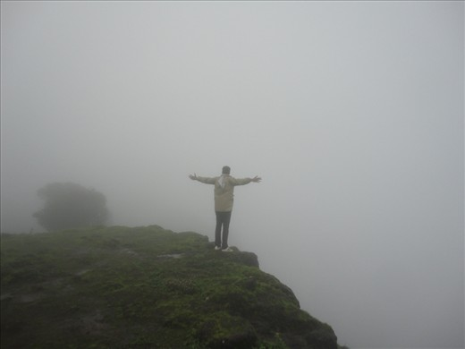 Its out of the world experience when you open your arms and let the cool foggy breeze hug you.