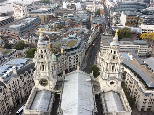 From the top of St. Paul's.