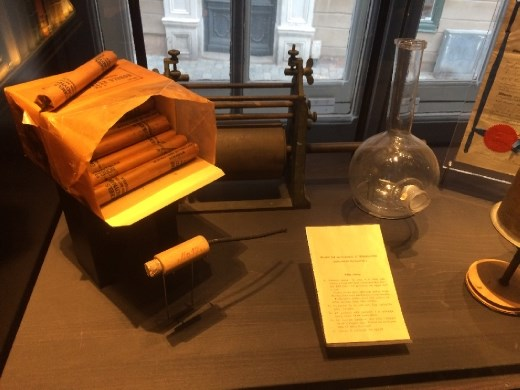 Dynamite: the invention that made Alfred Nobel famous, and wealthy. Sadly his brother was one of the casualties in the creation of it, and amazingly Alfred Nobel pressed on after the tragedy.