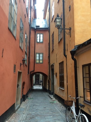 Old Town, also know as Gramla Stan, Stockholm.