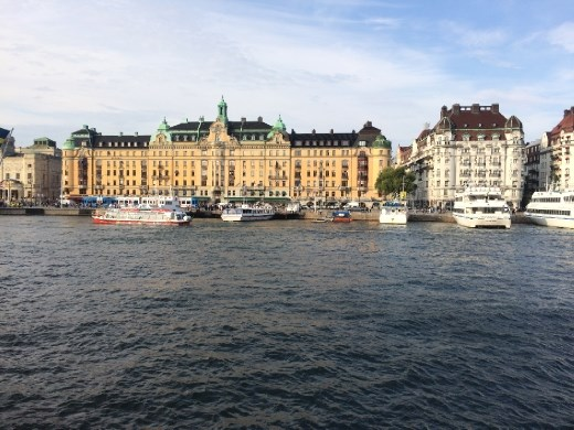 Stockholm from the ferry.