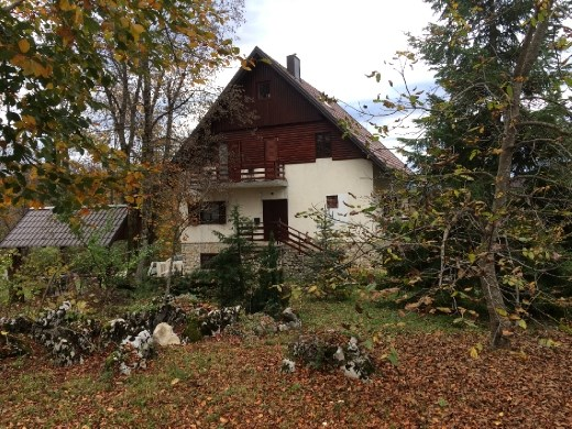 A typical style house for the area very reminiscent of Austria.