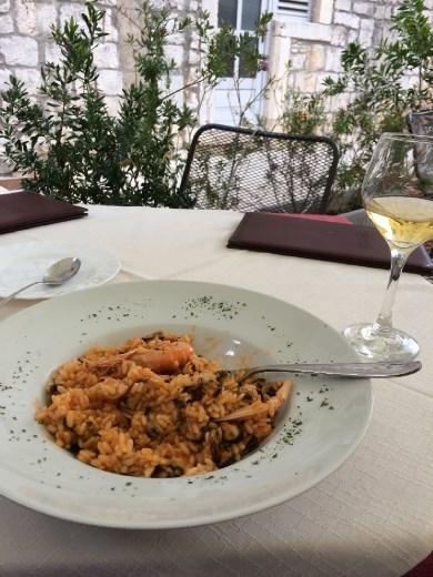 Seafood & marina risotto!