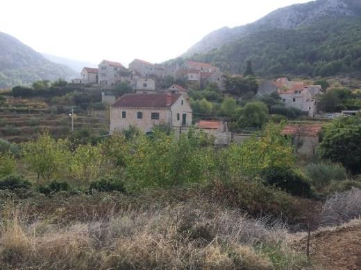 Picturesque Hvarian village.