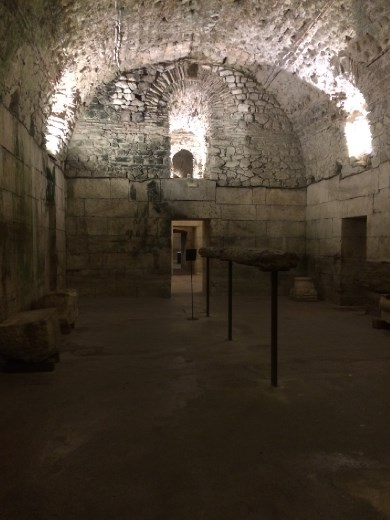 The basement of Diocletian's palace.