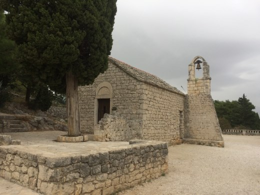 A beautiful little chapel on Marjan Hill about which I know nothing else.