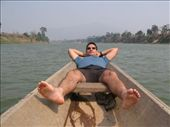 Wynne relaxing on boat in Phonsi, seems to be a trend here...: by shockalotti, Views[385]