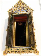Window into temple in Bangkok: by shockalotti, Views[305]