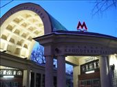 The entrance to the Kropotkinskaya/Lenina metro station: by shrummer16, Views[490]