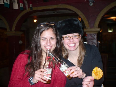 Cheers to our last night in Moscow! Up next, 4-day train ride to Kazakhstan...