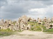 The wonderfully curious rock formations and cave houses in Goreme: by shrummer16, Views[314]