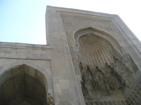 Mosque ınsıde the Shırvanshah complex ın Baku