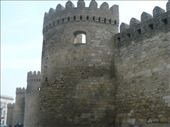 The fortress walls of the medieval Old Town section of Baku: by shrummer16, Views[2548]