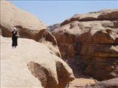 Yasmina enjoying the rewarding views from atop the rock bridge: by shrummer16, Views[251]