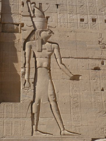 Osiris, the father of Horus and the Protector God