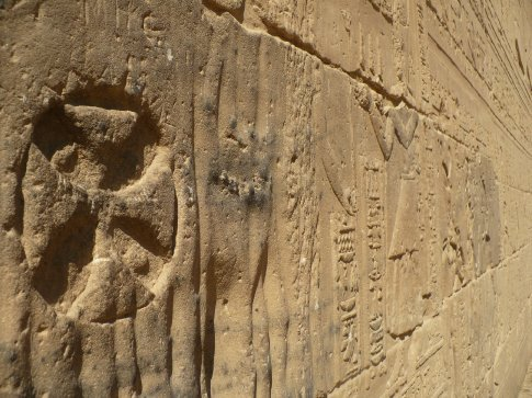 Some Christian symbology mixed in with the ancient Egyptian